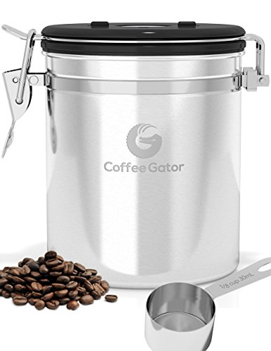 Alpha Coffee Container with Vacuum Seal If you want something a bit more high-tech this storage device comes with a pump that allows you to create a ...  sc 1 st  2Caffeinated & What is the Best Way to Store Coffee Beans? - 2Caffeinated