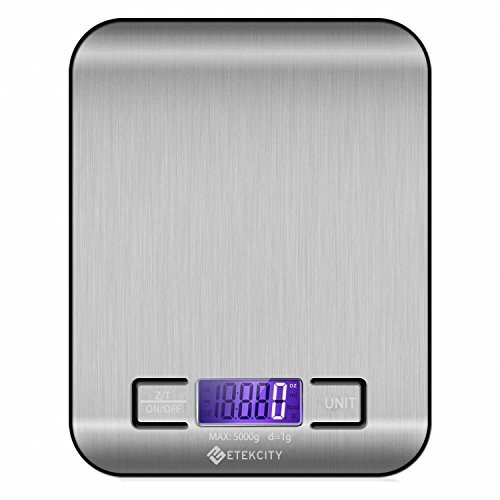 Best Pick: Etekcity Digital Multifunction Food Kitchen Scale