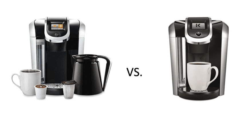 another keurig battle for the ages keurig k450 vs k475 2caffeinated