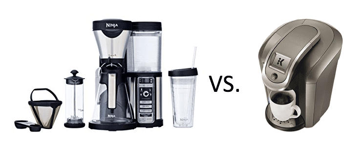 How Does the Ninja Coffee Bar Compare with a Keurig?