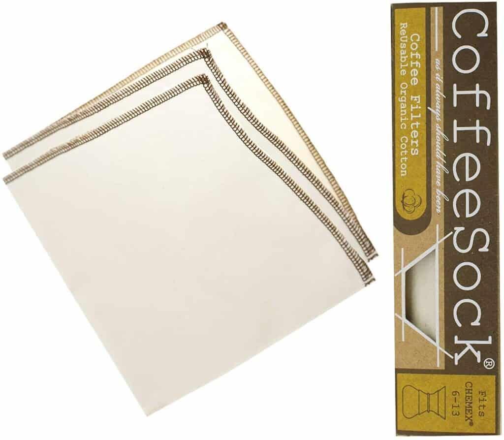 coffee sock reusable filters