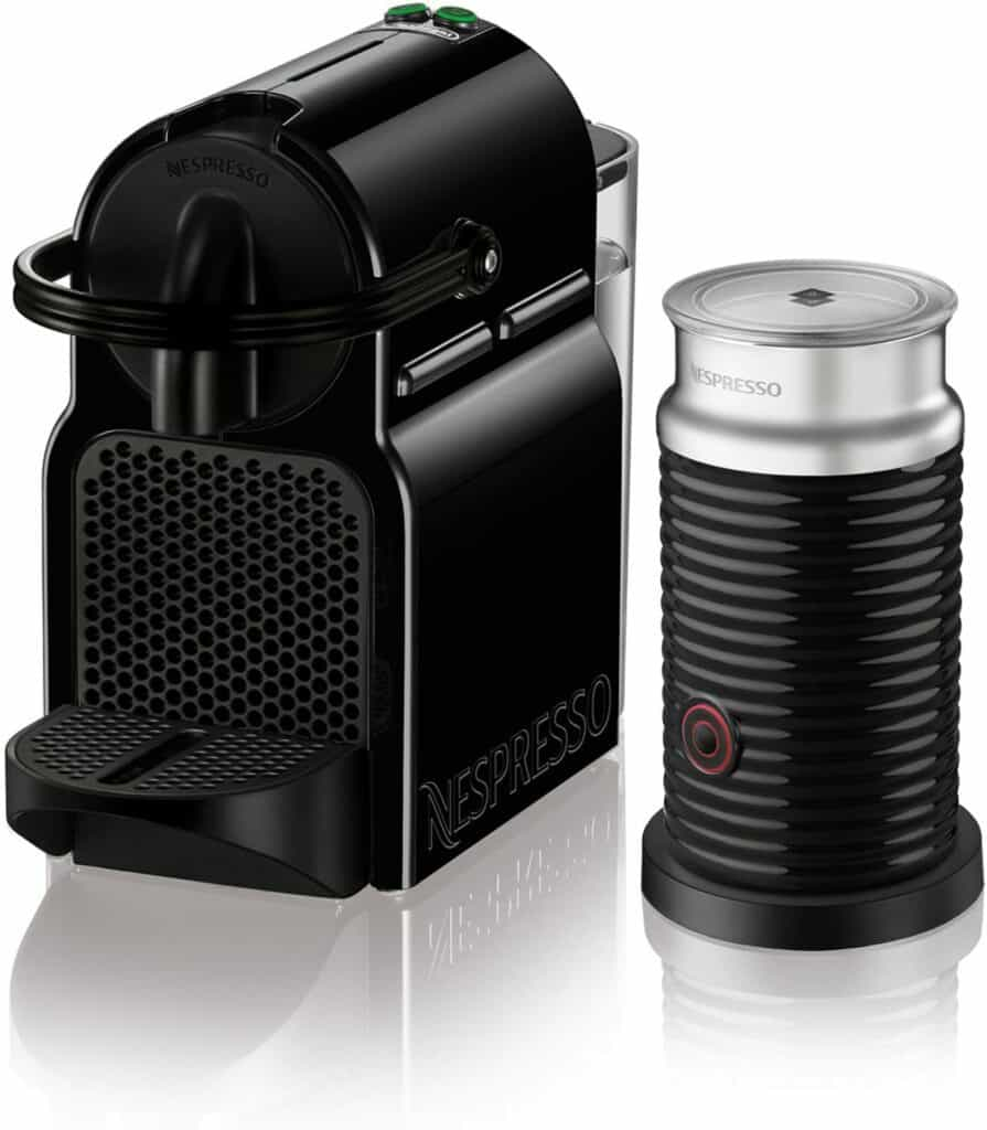 Nespresso Inissia Espresso Machine by De'Longhi with Aeroccino