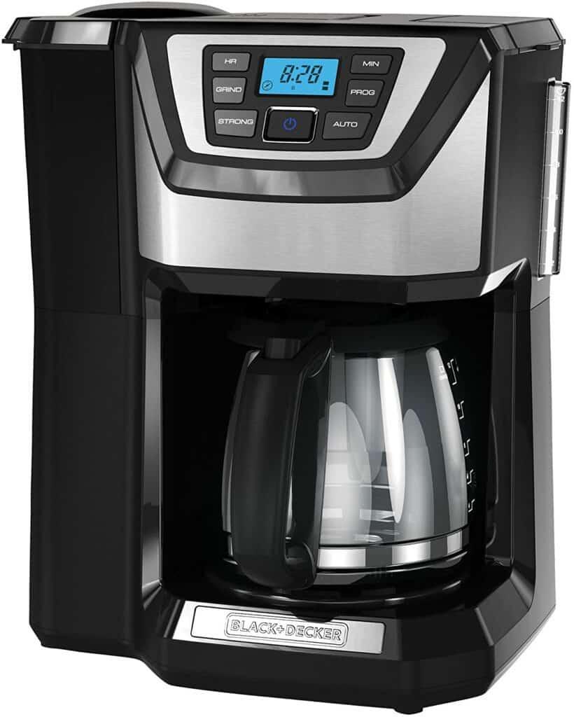black+decker 12 cup coffeemaker