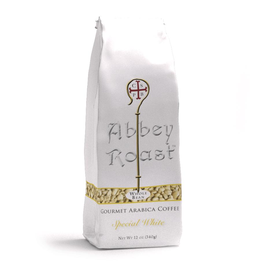Abbey Roast white coffee