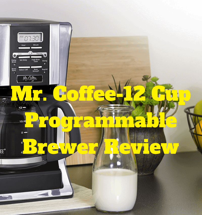 Mr. Coffee 12 Cup Programmable Brewer Review