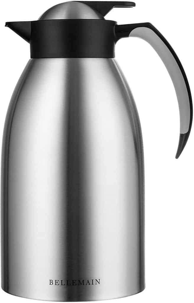 Bellemain Premium Thermal Coffee Carafe in Stainless Steel