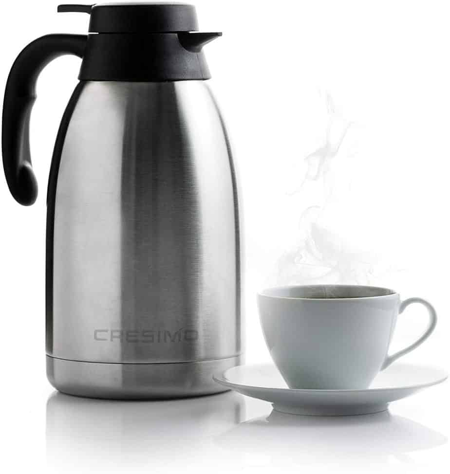Cresimo Stainless Steel Thermal Coffee Carafe