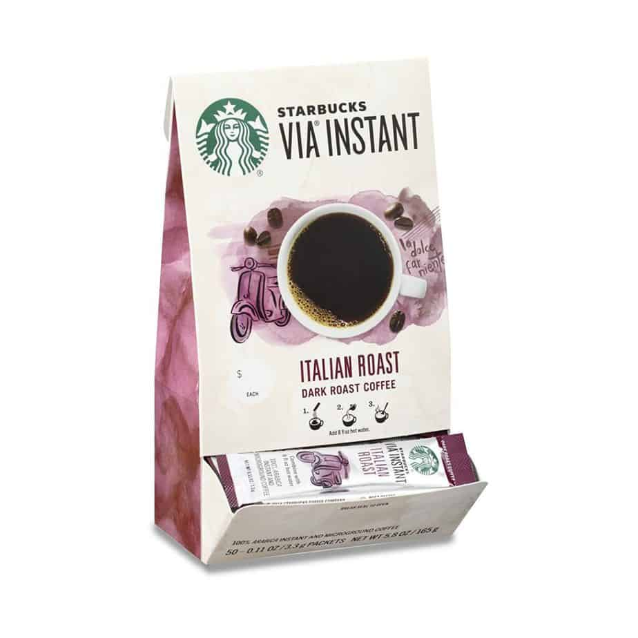 starbucks italian instant coffee