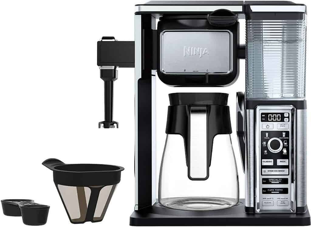 The Ninja Coffee Bar Brewer System with Glass Carafe (CF091)
