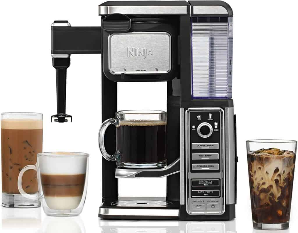The Ninja Coffee Bar Single-Serve System with Built-in Frother