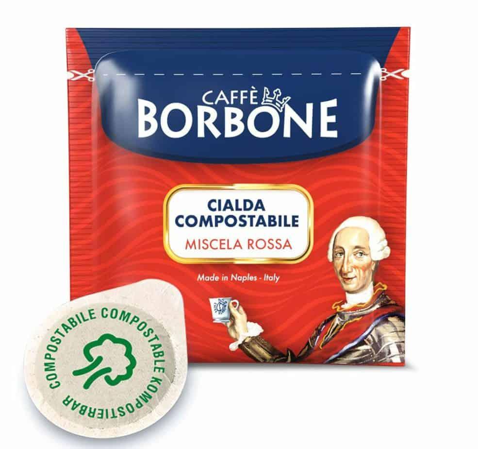 Caffe Borbone ESE Coffee Pods, Miscela Rossa
