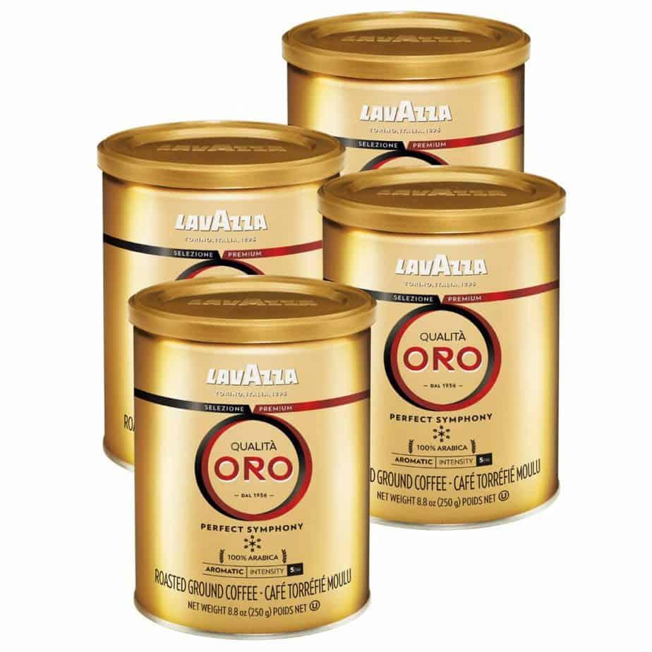 Lavazza Qualita Oro Ground Coffee Blend
