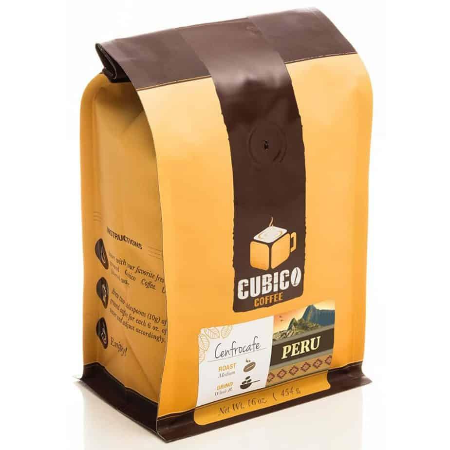 Cenfrocafe Peruvian coffee