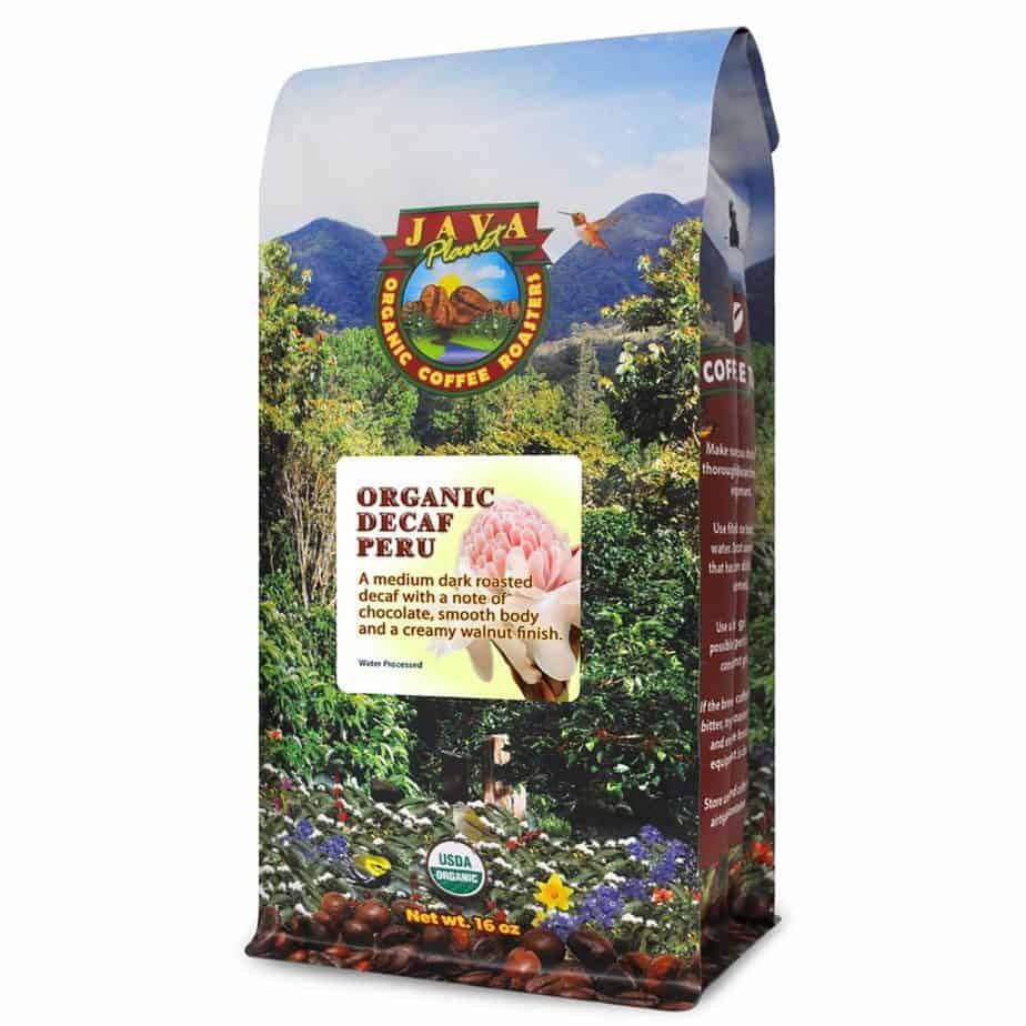 Java Planet- Decaf Coffee Peru USDA Organic Coffee Beans
