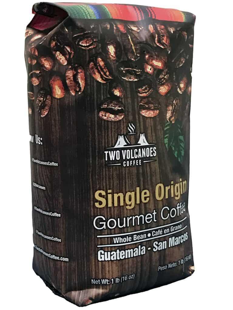 Two Volcanoes Coffee Gourmet Guatemala Coffee