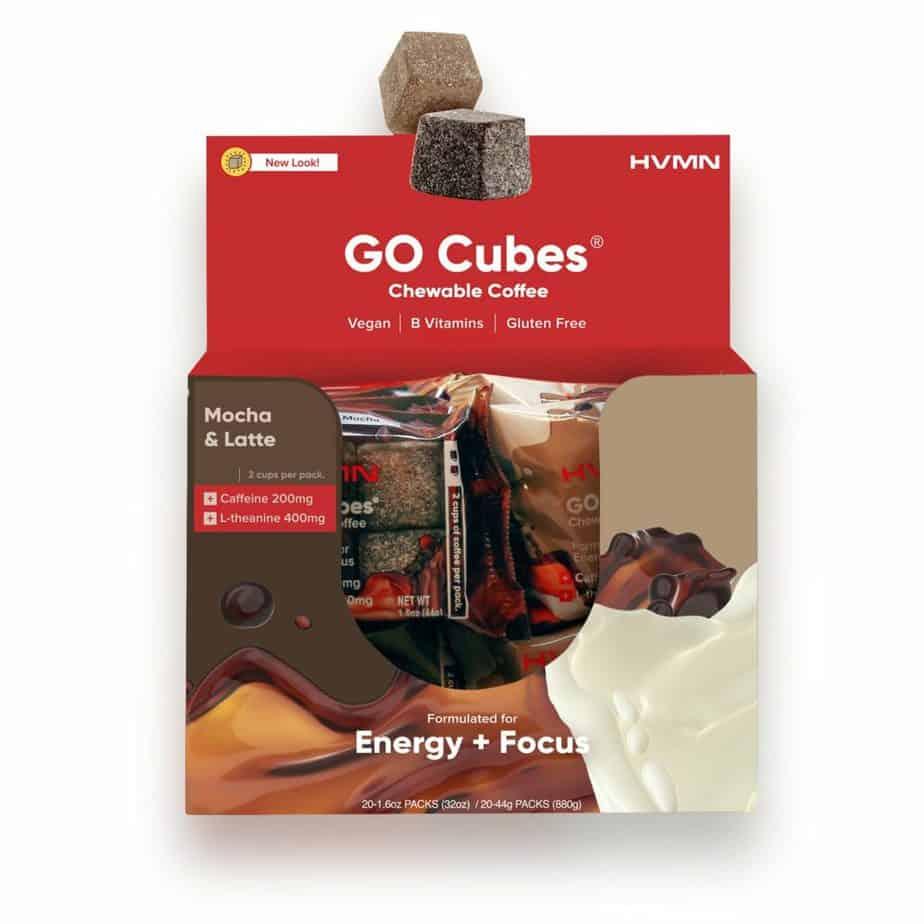 GO CUBES Energy Chew