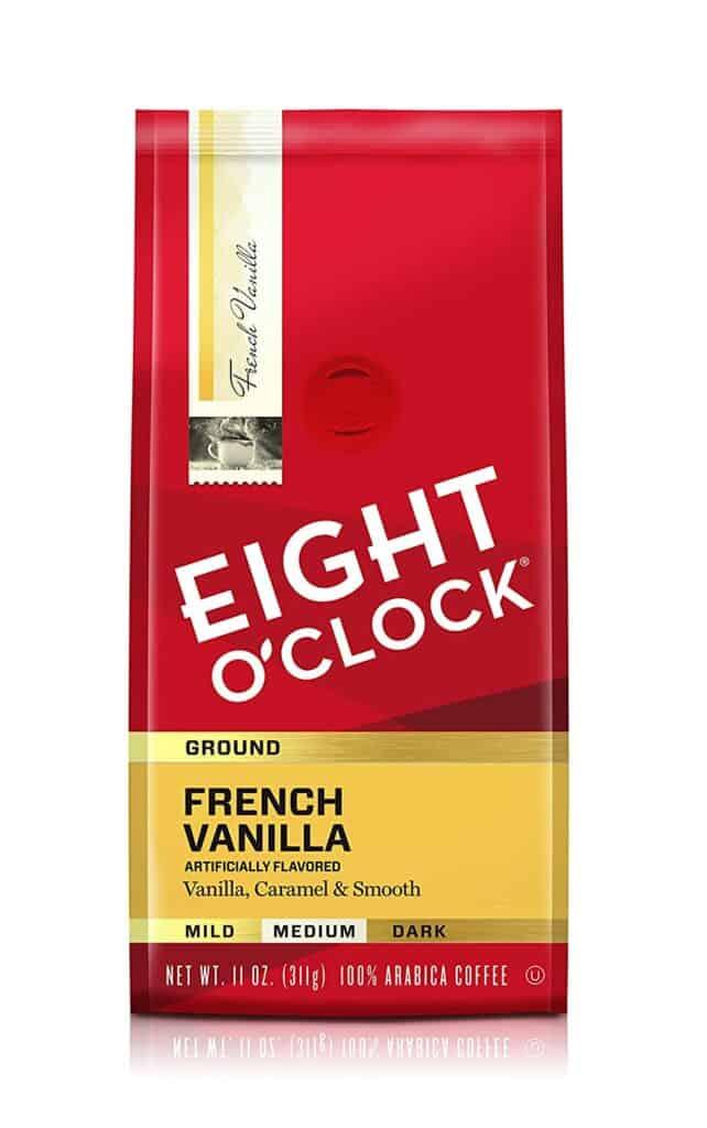 Eight O'Clock French Vanilla Coffee