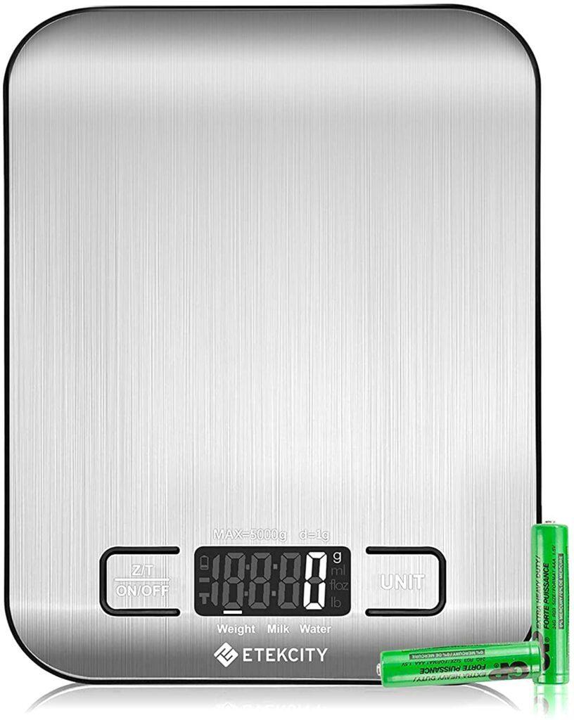 Etekcity Digital Multifunction Food Kitchen Scale