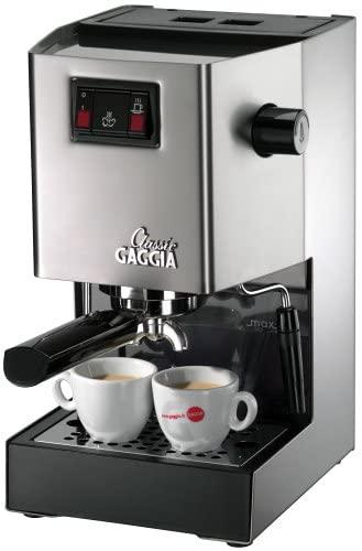 Gaggia Classic Espresso Machine At-a-Glance