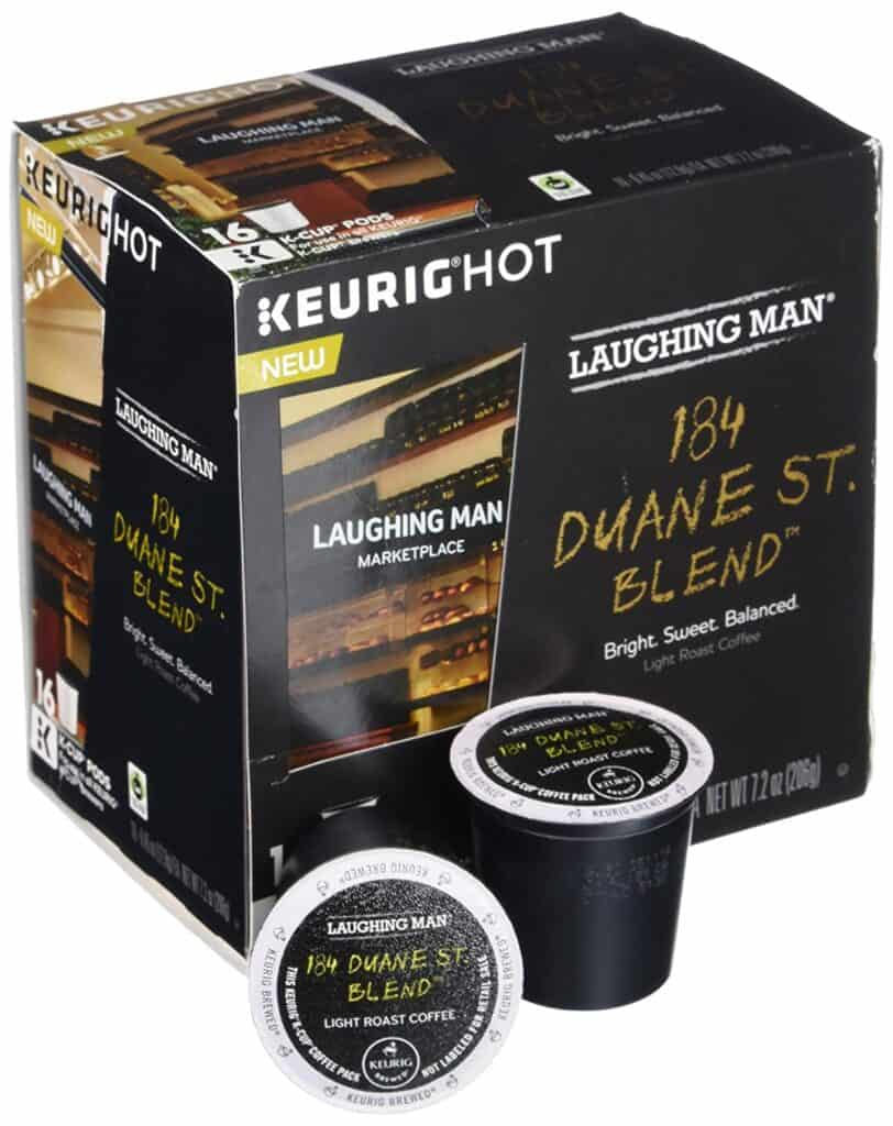 Laughing Man 184 Duane St. Blend™ Coffee
