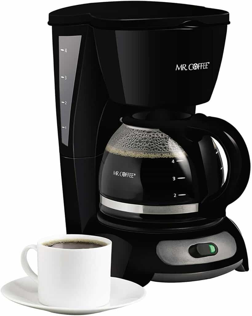 Mr. Coffee TF4 4-Cup Switch Coffeemaker