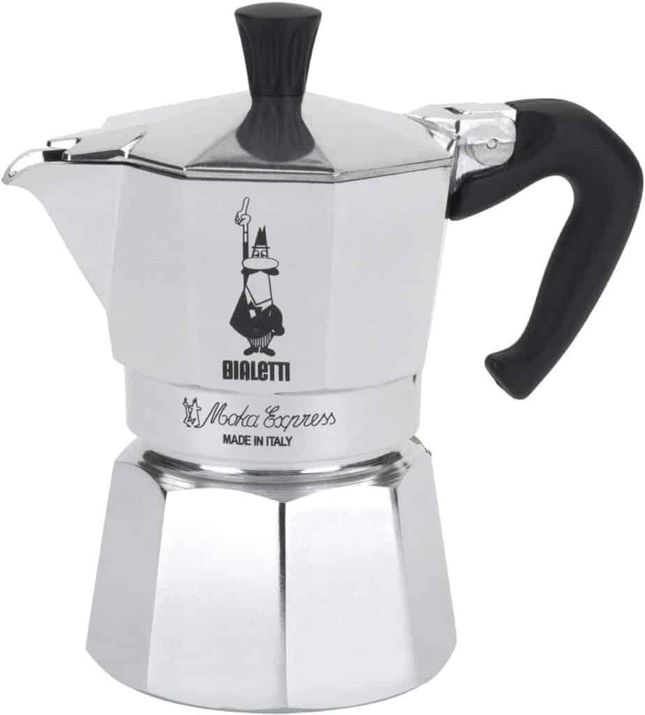 Original Bialetti Moka Pot Express Made in Italy Stovetop Espresso Maker