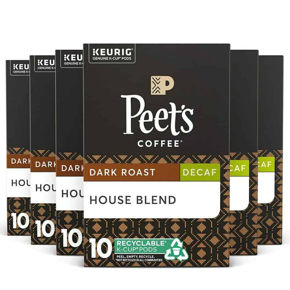 Peet's Coffee & Tea Decaf House Blend Coffee