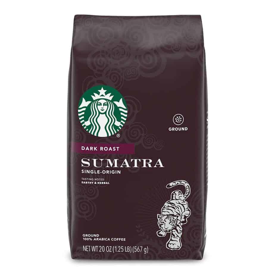 Starbucks Sumatra Coffee