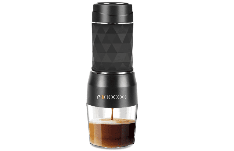 Portable Espresso Machine, Moocoo