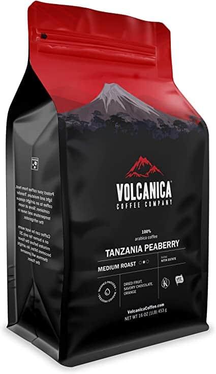 Tanzania Peaberry Coffee | Volcanica Coffee